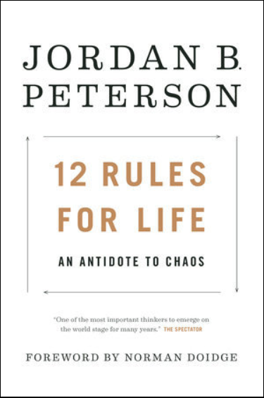 "Featured Author Jordan Peterson, ""12 Rules for Life"""